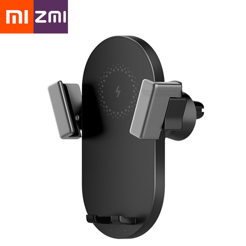 Xiaomi Car-Charger-Holder Mobile-Phone Fast-Charging ZMI 20w Wireless for WCJ10 iPad