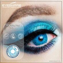 1 par nova york pro lentes de contato de cor para olhos uso anual lentes cor dos olhos