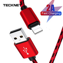 цена на TeckNet Charger Cable Micro Usb Cable For iphone 11 USB Type C Fast Charging Adapter Charger Wire For Samsung Huawei Xiaomi Cord