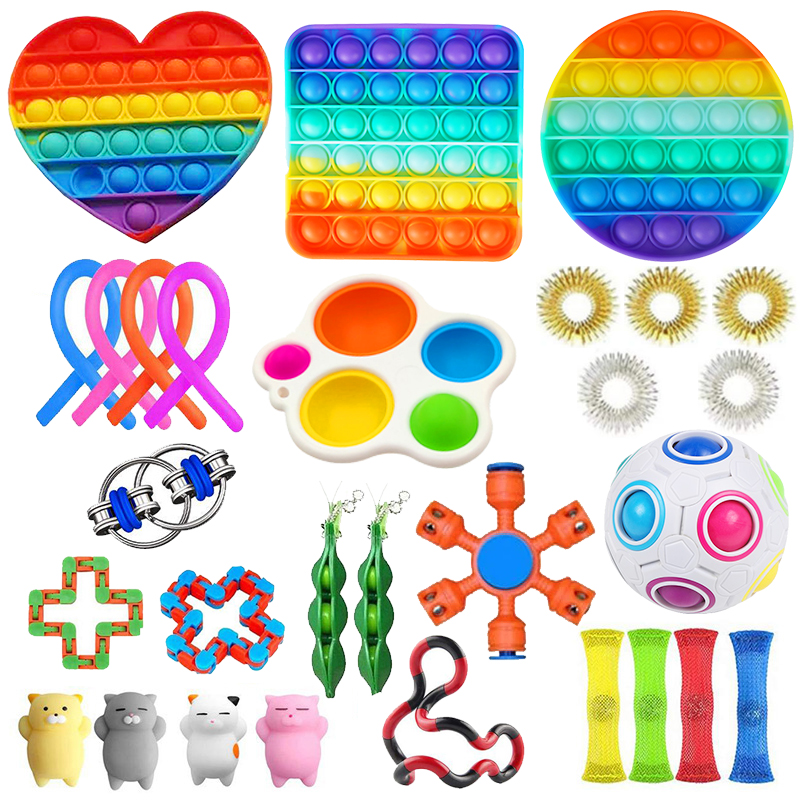 Toy-Set Toys-Pack Figet-Toys Fidget Relief-Gift Anti-Stress Sensory Girl Adults Children img4