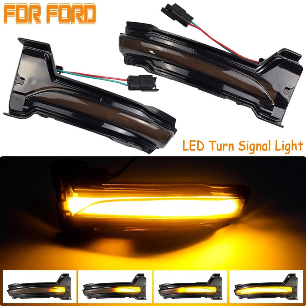 Para ford focus mk4 ab bj 2019-2020 excelente led dinâmico turn signal blinker sequencial espelho lateral indicador de luz