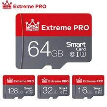 Cartão de memória flash da classe 10 do sdxc/sdhc micro sd 32gb para o smartphone/veio cartão de memória vermelho de alta velocidade do micro sd 8gb 16gb 32gb 64gb