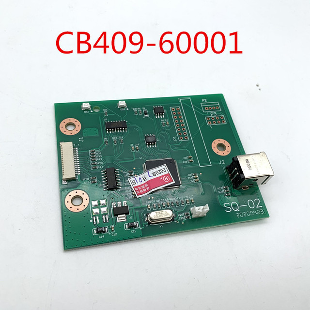 100% נבדק עבור HP1018 1020 מעצב לוח CB409 60001 על מכירה