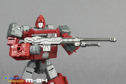 Matrix Workshop M-19 Upgrade Kit For Siege Deluxe WFC-S42 Impacter