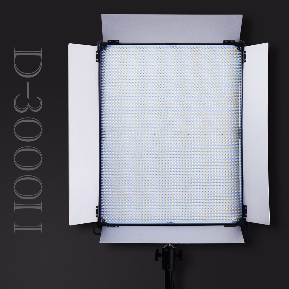 Yidoblo D3000 <font><b>2700</b></font> <font><b>LEDS</b></font> Light Panel 5500K <font><b>LED</b></font> Professional Photography lights FOR Video Light CRI 95 Camera Photographic Light image