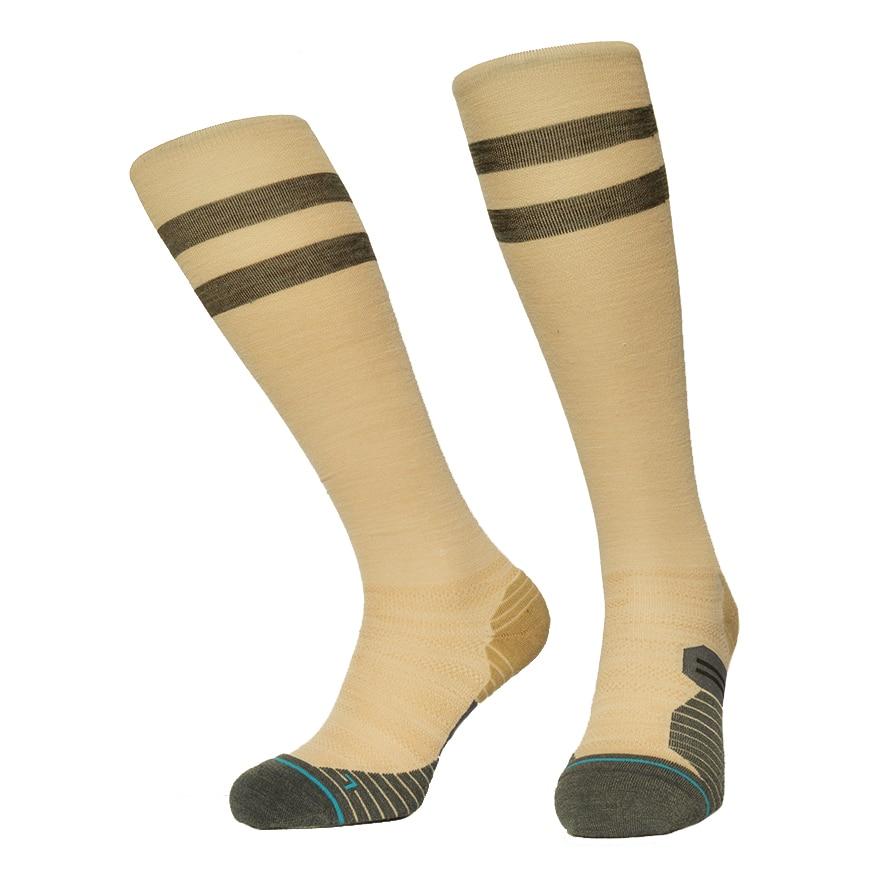 Merino Wool Compression Socks Men Snowboard Hiking Winter Warm Sports Sox For Men Women Terry Bottom Winter Stocking