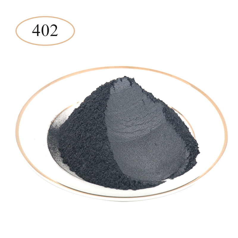 Type 402 Pearl Powder Pigment   Mineral Mica Powder DIY Dye Colorant For Soap Automotive Art Crafts Mica Pearl Powder 10g/50g