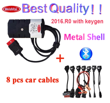 2020 Newest 2016.R0 with keygen for delphi ds150e cdp bluetooth car truck tcs cdp pro for autocom obd2 Scanner