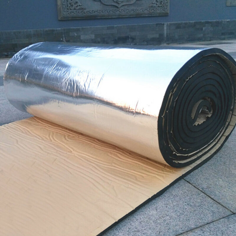 1pc New Sound Deadener Auto Heat Shield Insulation Noise Deadening Material Mat