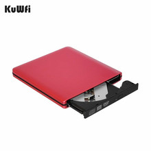 все цены на Red Slight USB 3.0 Portable External DVD-RW/CD-RW Burner Writer Rewriter Optical Disc Drive CD DVD ROM Player Support Win Mac OS онлайн