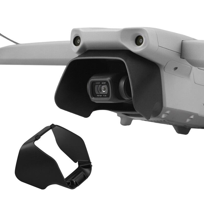apto para DJI MAVIC AIR 2 parasol de lente desmontaje minimiza la luz perdida Parasol para lente de dron parasol para c/ámara parasol de objetivo evita reflejos f/ácil montaje accesorios