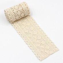 5 ярдов аксессуары для одежды Лента кружевная отделка легкая прочность лоскутное украшение ручной работы домашнее украшение DIY