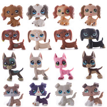 Rare LPS Toy Model Pet Shop Dog Dachshund Figure Collection Classic Role Playing Action Child Birthday Gift