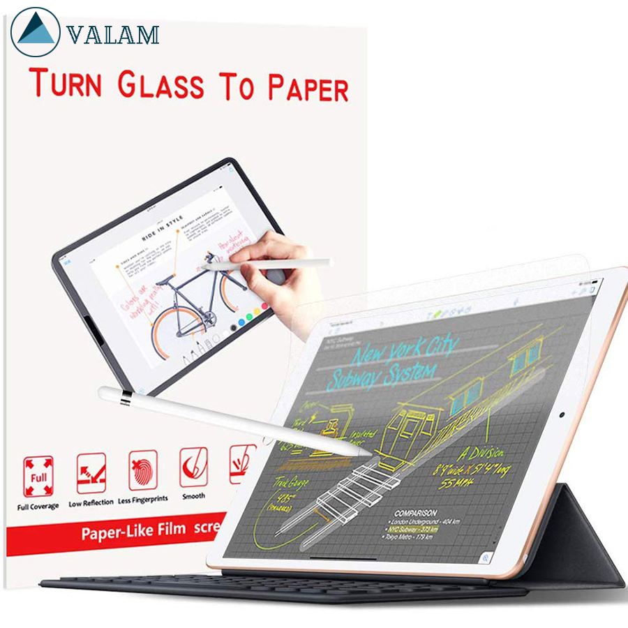 Paper Like Screen Protector For IPad Pro 12.9 11 10.5 9.7 Air 1 2 3 Mini 4 5 Matte PET Anti-Glare Painting Film For Apple Pencil