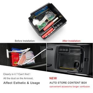 Image 2 - RUIYA Car Central Control Armrest Storage Box For Niro EV Electric Version 2019 Auto Anti Slip Storage Box Interior Accessories