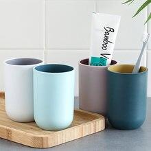 Двухцветная чашка для полоскания рта в скандинавском стиле простая