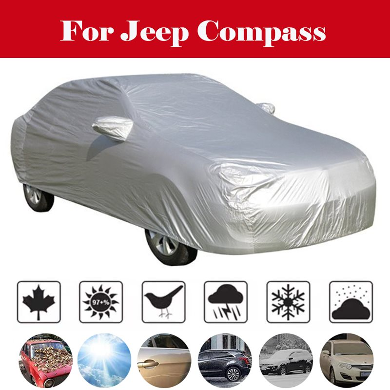 Car awning snow car covers windshield protector winter windshield outdoor sun shade case for cars For Jeep Compass