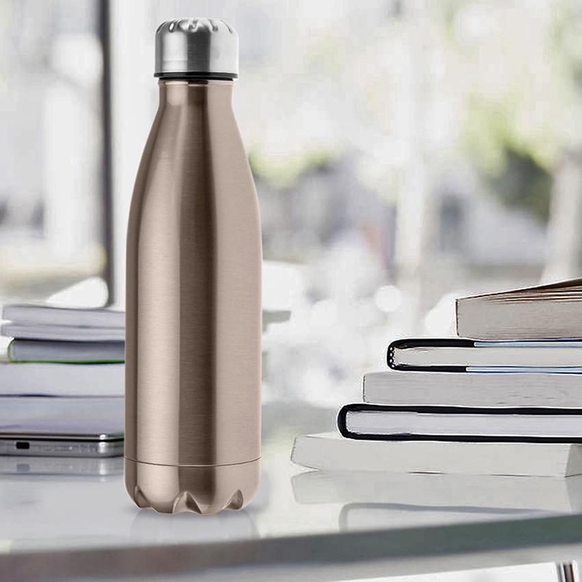 H9eb1f0c9ab964434a17f18888bad6816s 500ML water bottle Double Insulation hydro flask 304 Stainless Steel outdoor Sport Thermal Drink Bottle garrafa termica for Kids