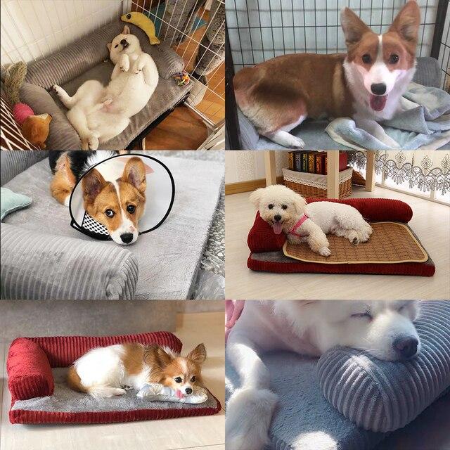Luxury Large Dog Bed Sofa Dog Cat Pet Cushion Mat For Big Dogs   6