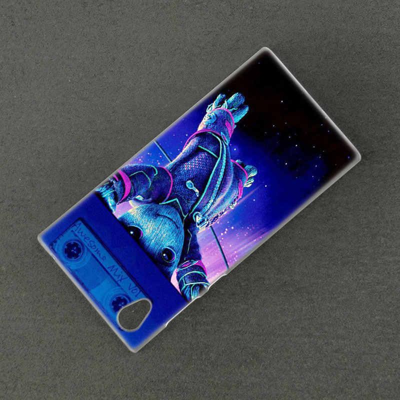 Jesteśmy Groot twarde etui do Sony Xperia L1 L2 L3 X XA XA1 XA2 XA3 Ultra 10 Plus E5 XZ XZ1 XZ2 kompaktowy XZ3 XZ5 2 20 pokrywa