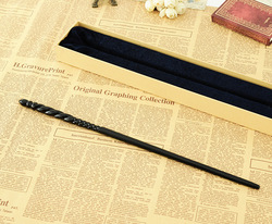 Newest Metal Core Newest Quality Deluxe Harri Movie COS Ginny Voldermort Magic Wands/Stick with Gift Box Packing