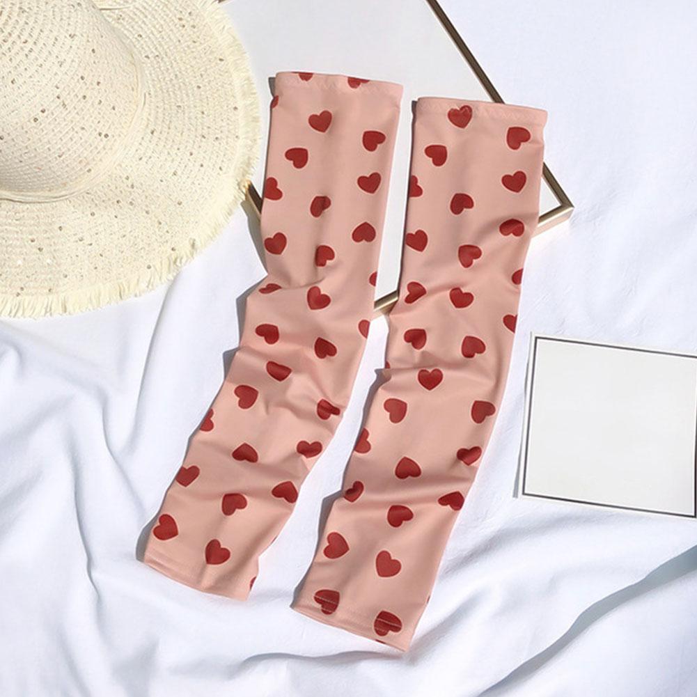 Korea Ins Fashion Nova Woman Tattoo Sleeve Arm Gloves Thin Bands Summer Arm Sunscreen Sleeves Warmers Anti-mosquito Arm T1U0
