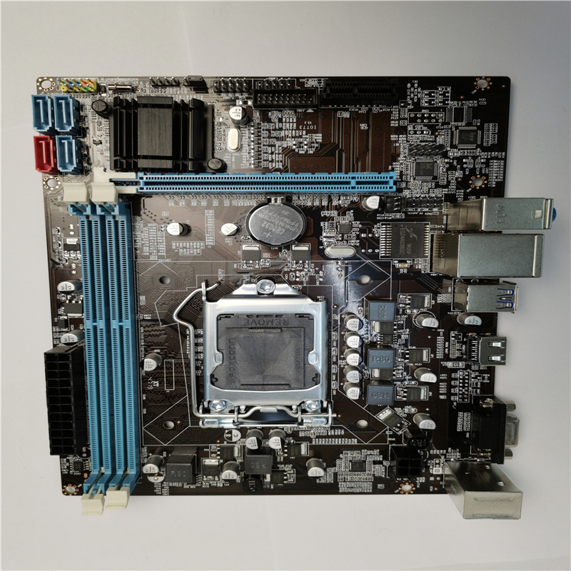 Intel B75 motherboard HDMI VGA mainboard USB3.0 LGA1155 for i3 i5 i7 CPU  ddr3 memory DDR3 1066/1333/1600 MHZ Micro-ATX  new