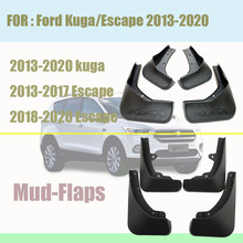 Mud -Flaps For ford Kuga Escape Mudguards kuga fenders car mud flaps splash guards fender Accessories auto styline 2013-2020