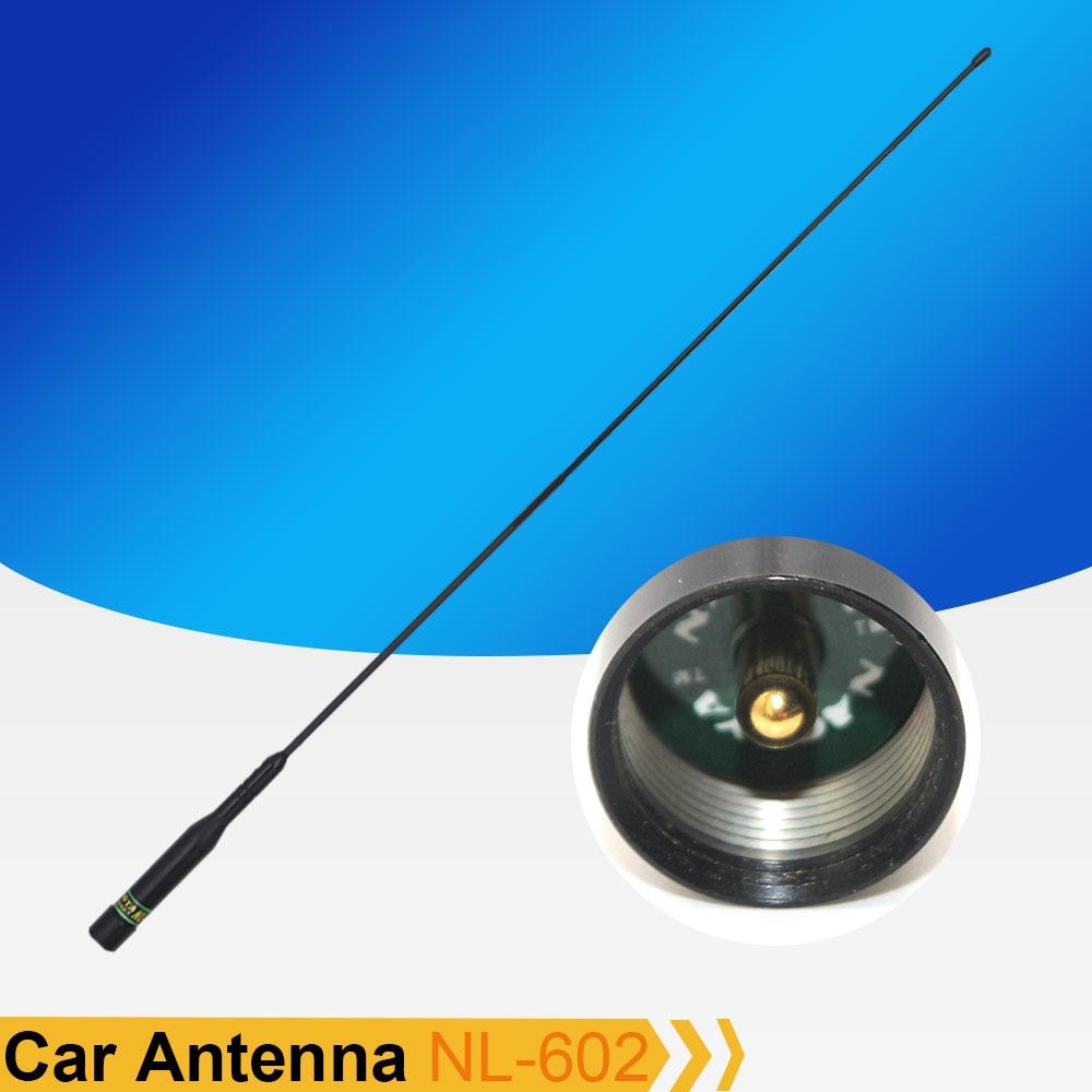 Original Nagoya Antenna NL-602 75cm VHF/UHF 144/430Mhz Car Mobile Antenna For Baojie BJ-218 BJ-318 QYT KT-8900D KT-7900D VV-898S