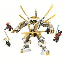 2021 novo 517 pçs dourado mech titan robô modelo conjunto blocos de construção 71702 vai crianças brinquedo tijolos presente aniversário