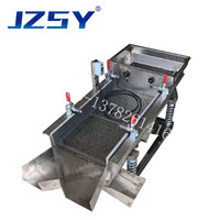 2-layer cassia seed cleaner linear sieve classificator machine Corn  wheat and rice medicinal separating screen machine
