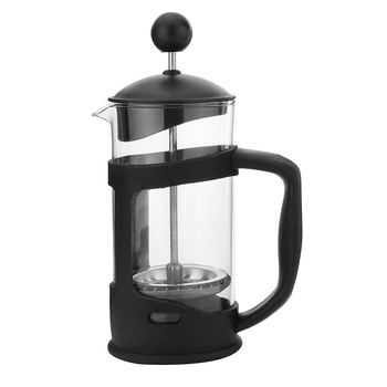 French Press Coffee/Tea Brewer Coffee Pot Coffee Maker Kettle 350ML Stainless Steel Glass Barista Tools Coffee Carafe 2
