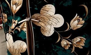Image 5 - مدين خمر الأسود شيونغسام اللباس امرأة التقليدية الصينية فساتين الكلاسيكية المائل الشق زي الصيف حزب Vestido