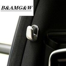 Auto Chrome Accessory B Pillar Hook Cover Trim Stickers Decoration For Mercedes Benz E Class W212 S Class W222 Car Styling Parts