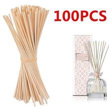 100 шт 22 см х 3 мм Арома ротанга палочки Рид диффузор палочки для Hom декоративный аромат