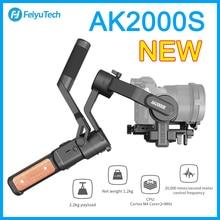 FeiyuTech AK2000S el Gimbal NIKON Canon Sony için Video 2.2 kg yük sabitleyici DSLR aynasız kamera VS AK2000
