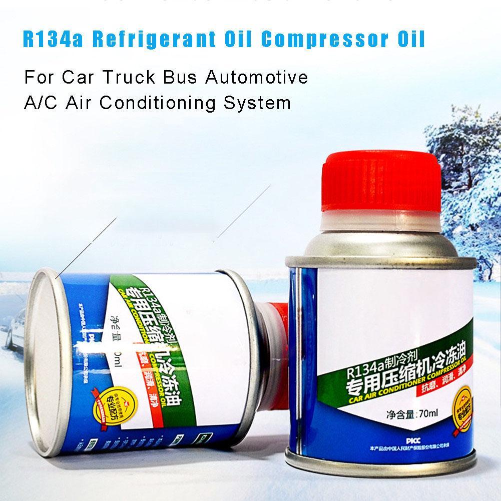 Автомобильный хладагент R134a охлаждающее масло компрессор масло для автомобиля грузовика автомобильный A/C AC кондиционер системы аксессуары