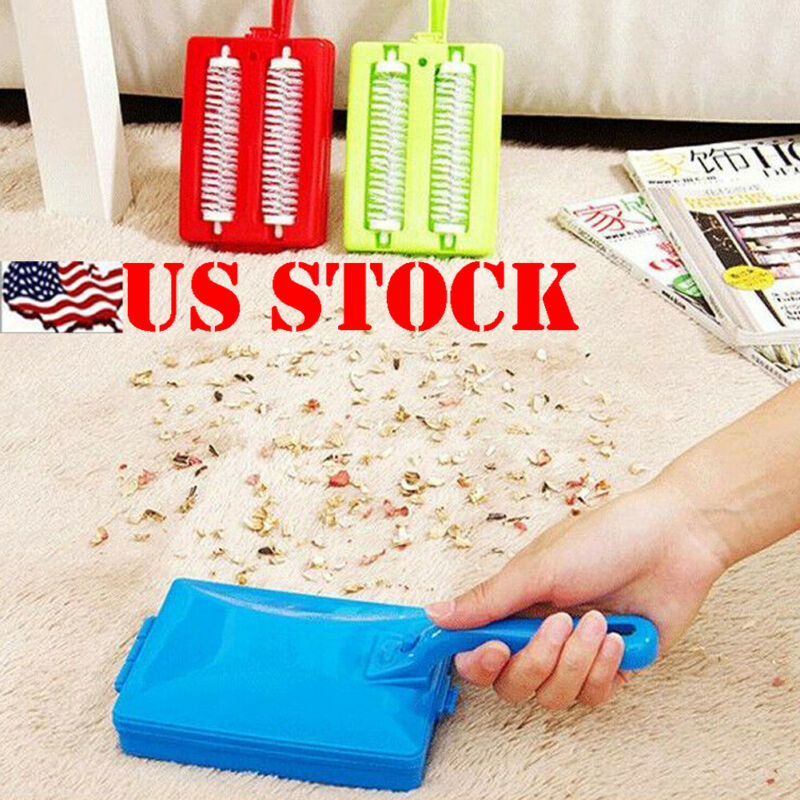 New Arrival Carpet Crumb Brush Collector Hand Held Table Sweeper Dirt Home Kitchen Cleaner image