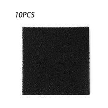 10 шт. высокая плотность активированный уголь пена черный фильтр припоя поглотитель дыма ESD вытяжка 13 см для фильтрации воздуха инструменты