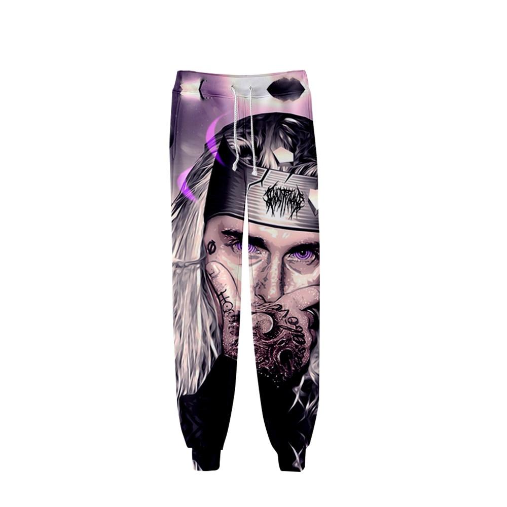 2019 Ghostemane Pants Men Hip Hop Pant Trousers Kpop Fashion Casual High Quality Casual Slim Ghostemane Pants For Men Streetwear
