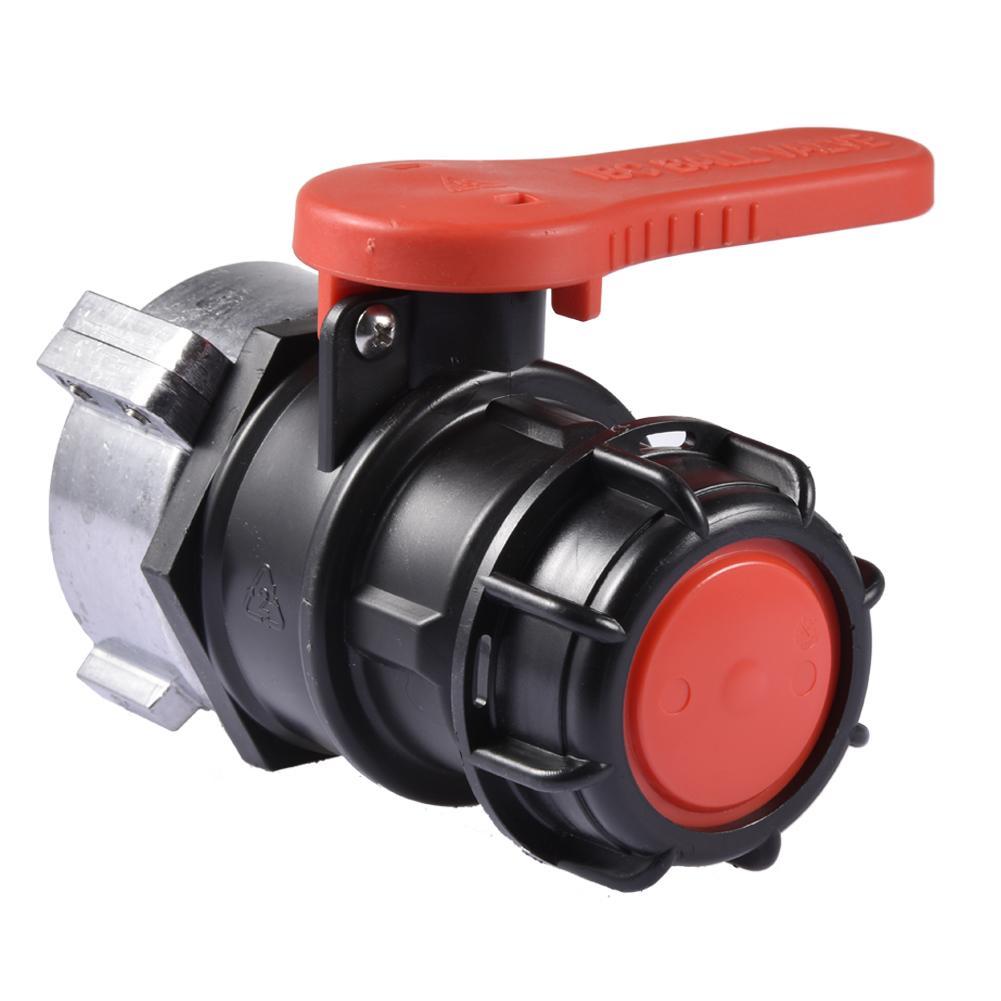 IBC Water Tank Camlock Adaptor Ball Valve Acid Alkali Resistant Value 75mm