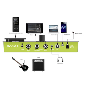 Image 4 - MOOER GE150 guitar pedal Amp Modelling & Multi Effects Pedal 55 Amplifier Models guitar pedal guitar accessories MOOER pedal