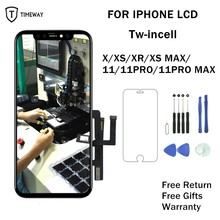 Incell LCD For iPhone X Incell LCD Screen For XS MAX XR XS Display Touch Screen For iphone 11 Pro 11 Pro Max Screen Replacement