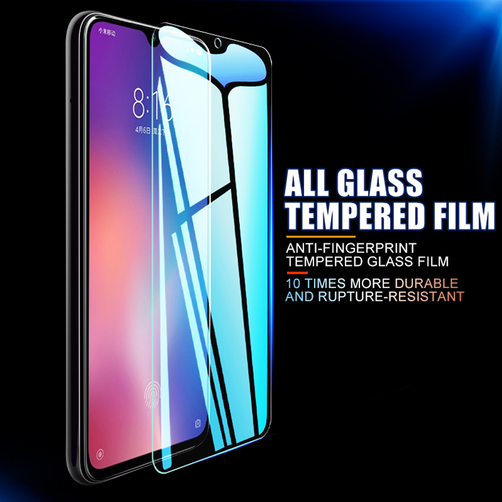 9H for xiaomi mi 10 pro 10 lite tempered glass phone screen protector mi note 10 pro protective film on the glass smartphone HD