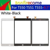 10Pcs los Für Samsung Galaxy Tab EINE 9 7 SM T550 SM T551 T550 T551 T555 Touchscreen Digitizer Panel Glas Objektiv LCD Vordere Sensor-in Tablett-LCDs und -Paneele aus Computer und Büro bei