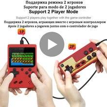 Ретро ТВ видео игровые консоли 8 бит ручной портативный игровой