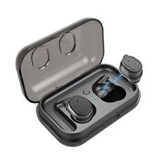 Nogou Tws manos libres Bluetooth oreja teléfono 4 auriculares deportivos inalámbricos estéreo sonido Bloototh auric