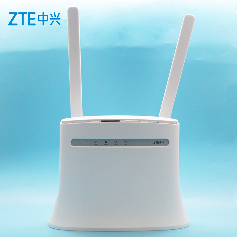 Unlocked New ZTE 4G Wifi Router MF283 MF283u With Antenna LTE Router Modem Router Wireless Wi-Fi Router Hotspot Gateway