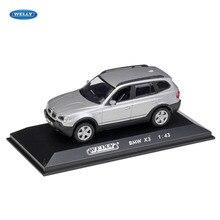 WELLY 1:43 BMW X3 автомобиль сплав модель автомобиля моделирование автомобиля украшение коллекция подарок игрушка литье модель игрушка для мальчиков