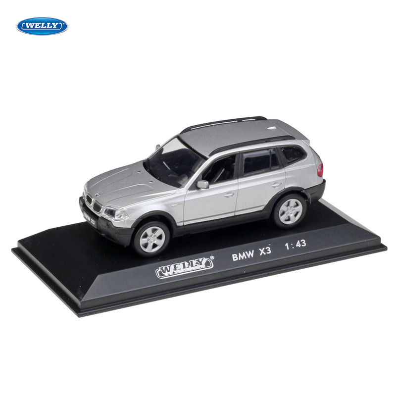 WELLY <font><b>1</b></font>:<font><b>43</b></font> BMW X3 <font><b>car</b></font> alloy <font><b>car</b></font> <font><b>model</b></font> simulation <font><b>car</b></font> decoration collection gift toy Die casting <font><b>model</b></font> boy toy image